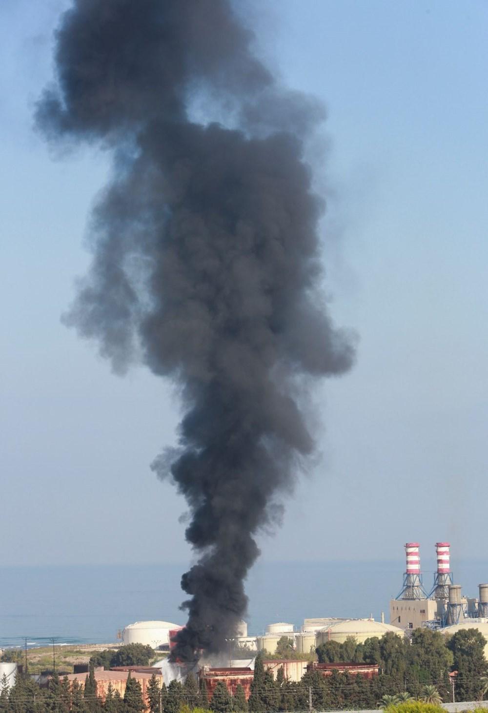 Lübnan'da petrol tesisinde yangın - 7