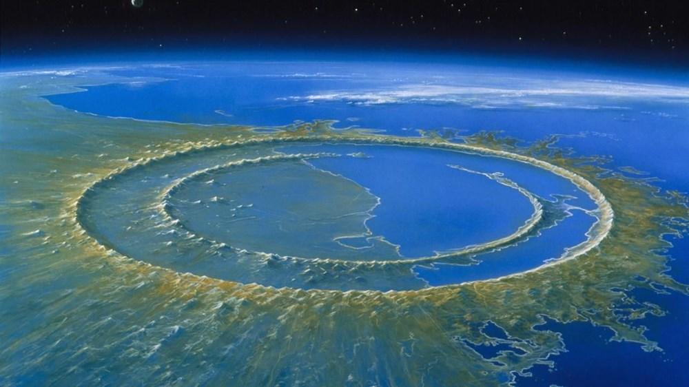 Dinozorları yok eden asteroidin oluşturduğu dev tsunaminin dalgaları 66 milyon yıl sonra ilk kez görüntülendi - 3