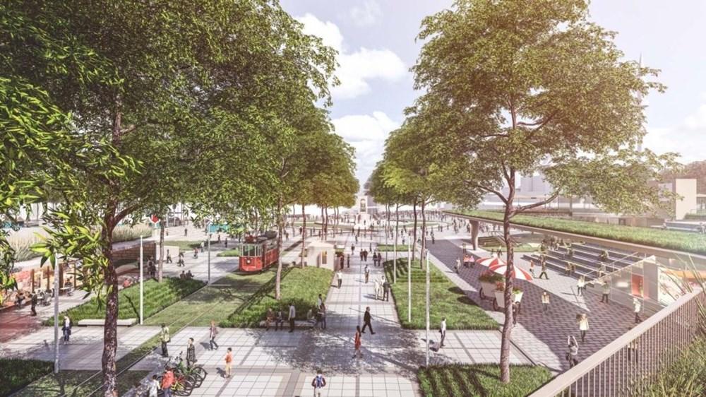 Taksim Meydanı Tasarım Yarışması sonuçlandı (Taksim Meydanı böyle olacak) - 3