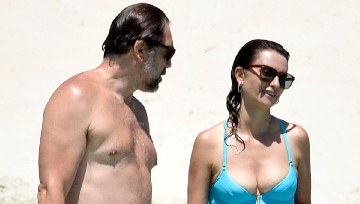 Penelope Cruz ile Javier Bardem, Sardinya tatilinde