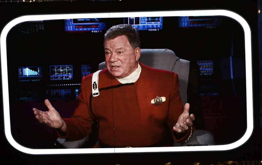 Star Trek'in Kaptan Kirk'ü William Shatner uzaya gidiyor - 2