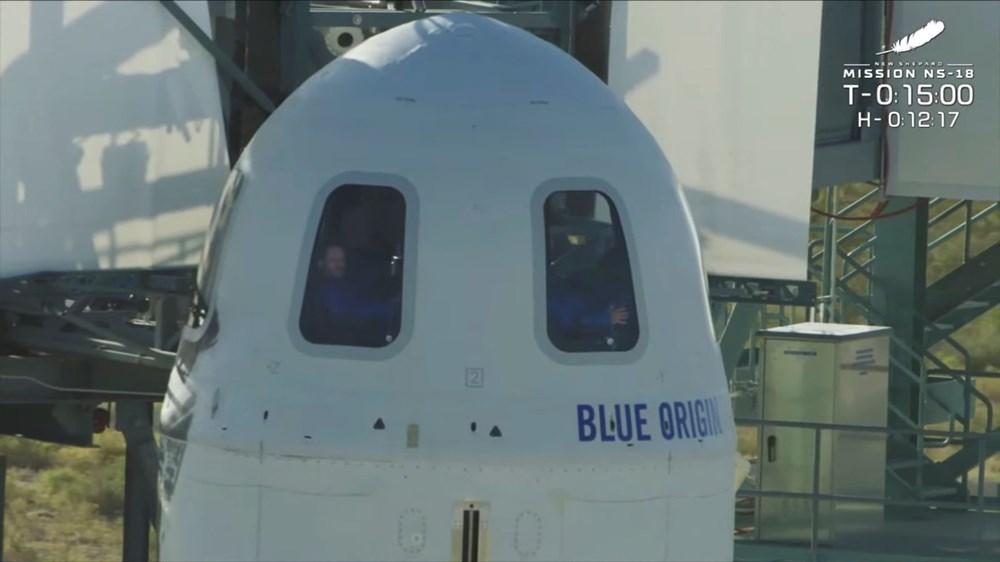 Star Trek'in Kaptan Kirk'ü William Shatner'in uzay yolculuğu - 3