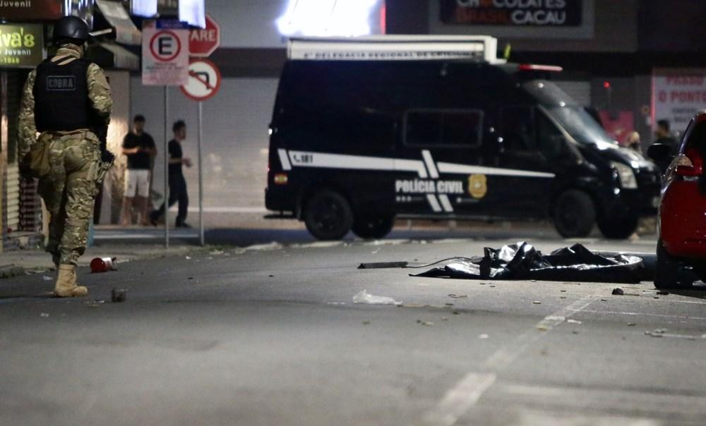 Brezilya'da savaş gibi banka soygunu: 30 kişi geldiler - 9