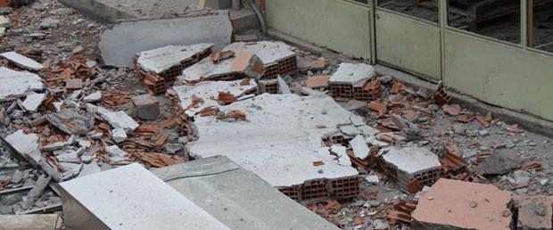 Beton ölen tokat ta üzerine beton parçası düşen kişi öldü ntv