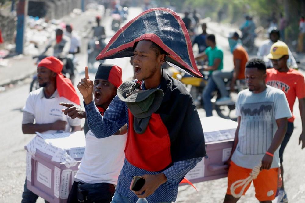 Haiti'de hükümet karşıtı protestolara sert müdahale - 7