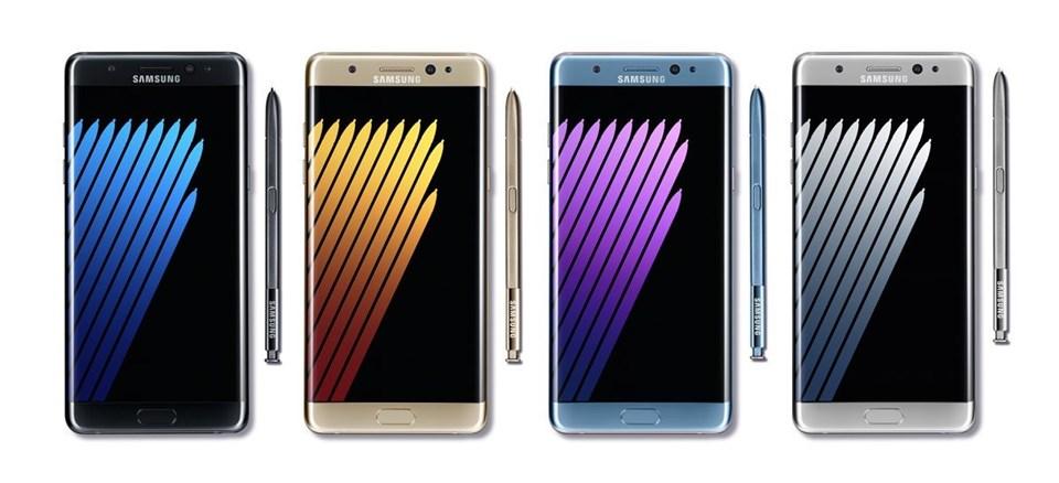3500mAh bataryaya ev sahipliği yapan Galaxy Note 7,19 Ağustos itibariyle satışa çıkıyor.