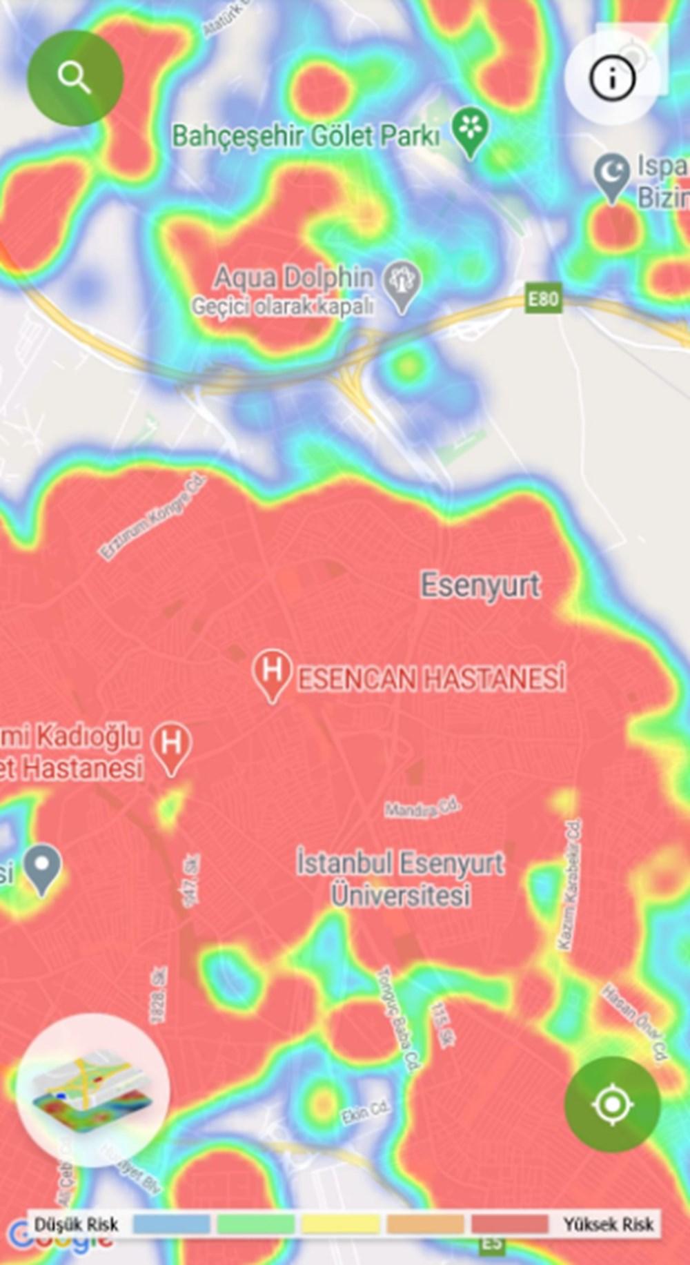 Corona haritası kızarıyor (İstanbul'un en güvenli ilçeleri) - 30