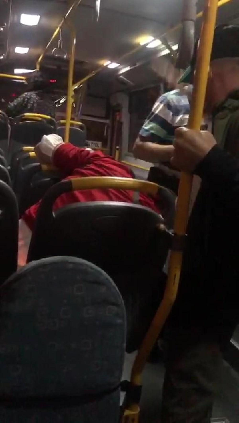 Belediye otobüsünde'taciz' dayağı - 4