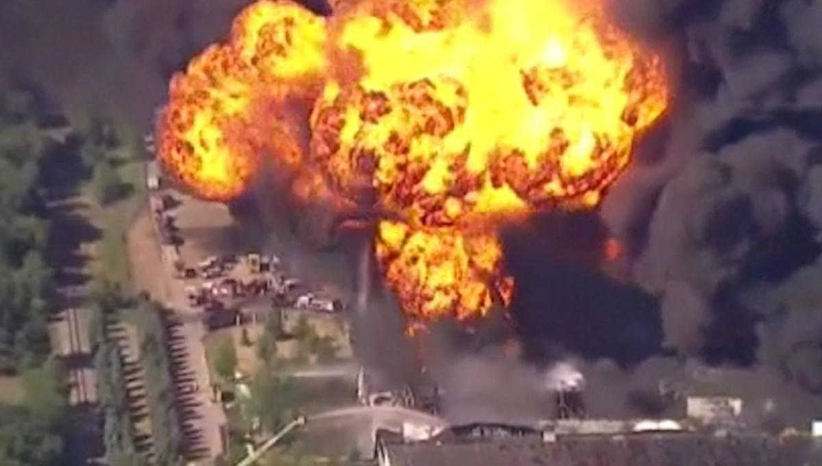 ABD'de kimyasal tesiste yangın: Müdahale sırasında patlama yaşandı