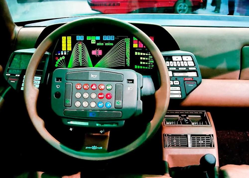 80'li yıllara damgasını vuran otomobil konsolları - 2