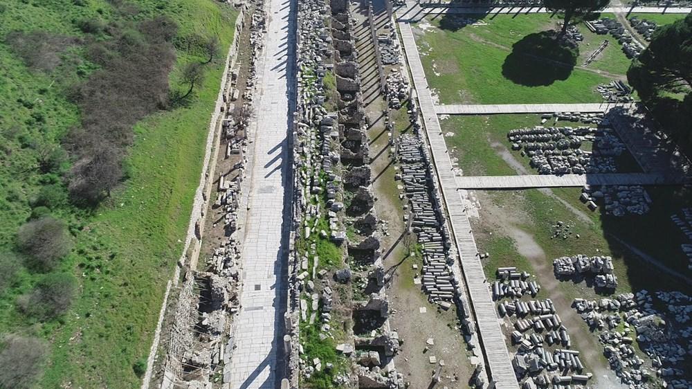 Efes Antik Kenti, pandemi döneminde de güvenli turizmin adresi oldu - 8
