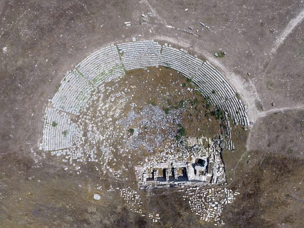 Laodikya Antik Kenti'ndeki 2 bin 200 yıllık antik tiyatronun restorasyonu tamamlandı - 3