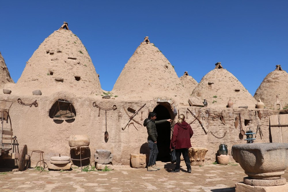 Harran's historical cupolas with their unique architecture - 9