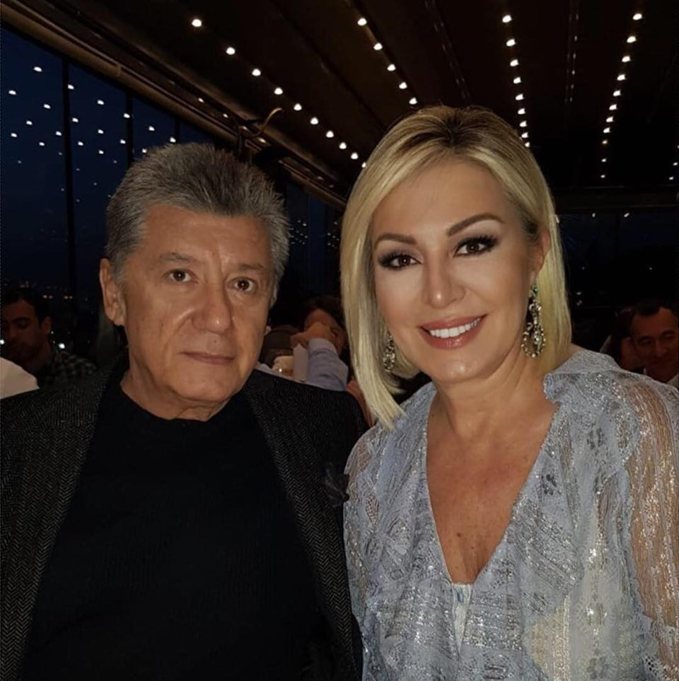 Tarık Ünlüoğlu ve eşi Gülenay Kalkan