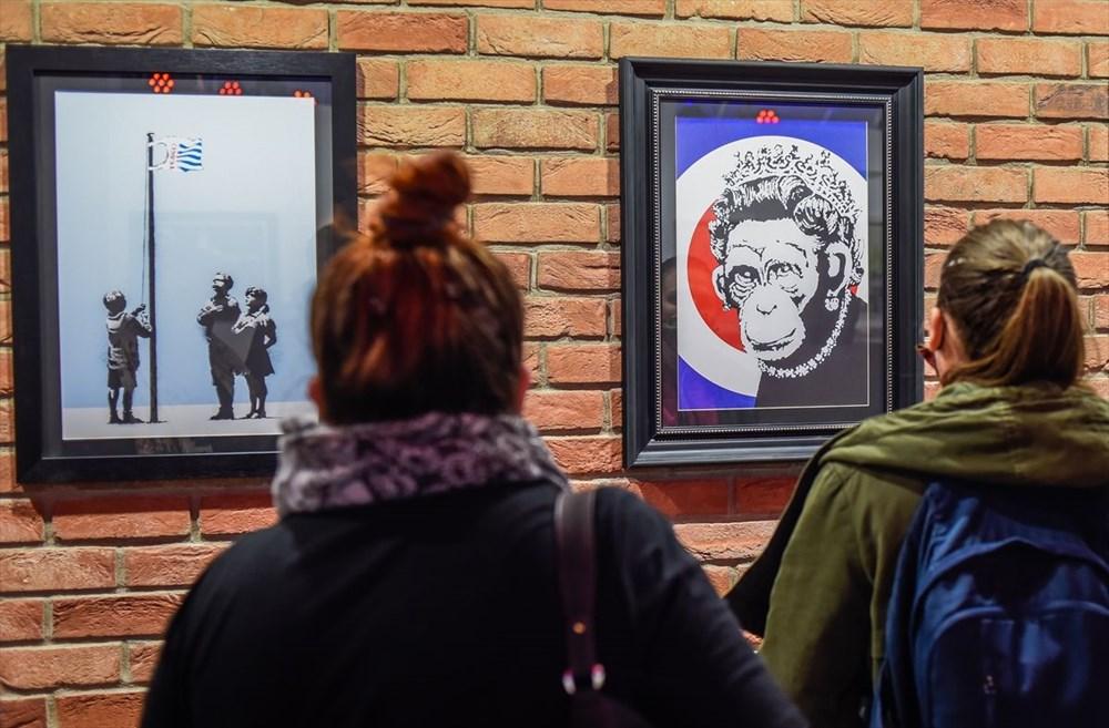 Banksy'nin sergisi Varşova'da - 4