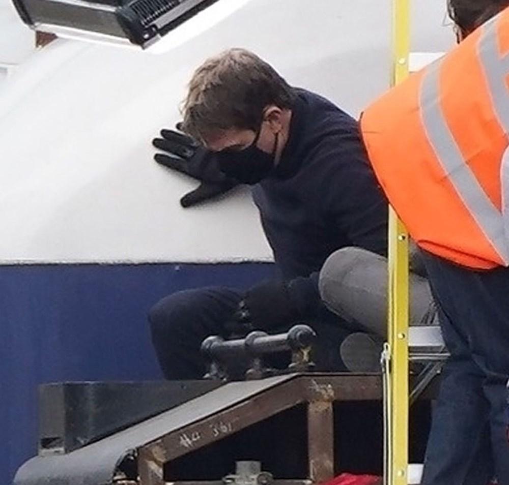 Görevimiz Tehlike 7 (Mission: Impossible 7) filminde tren sahnesi böyle çekildi - 3