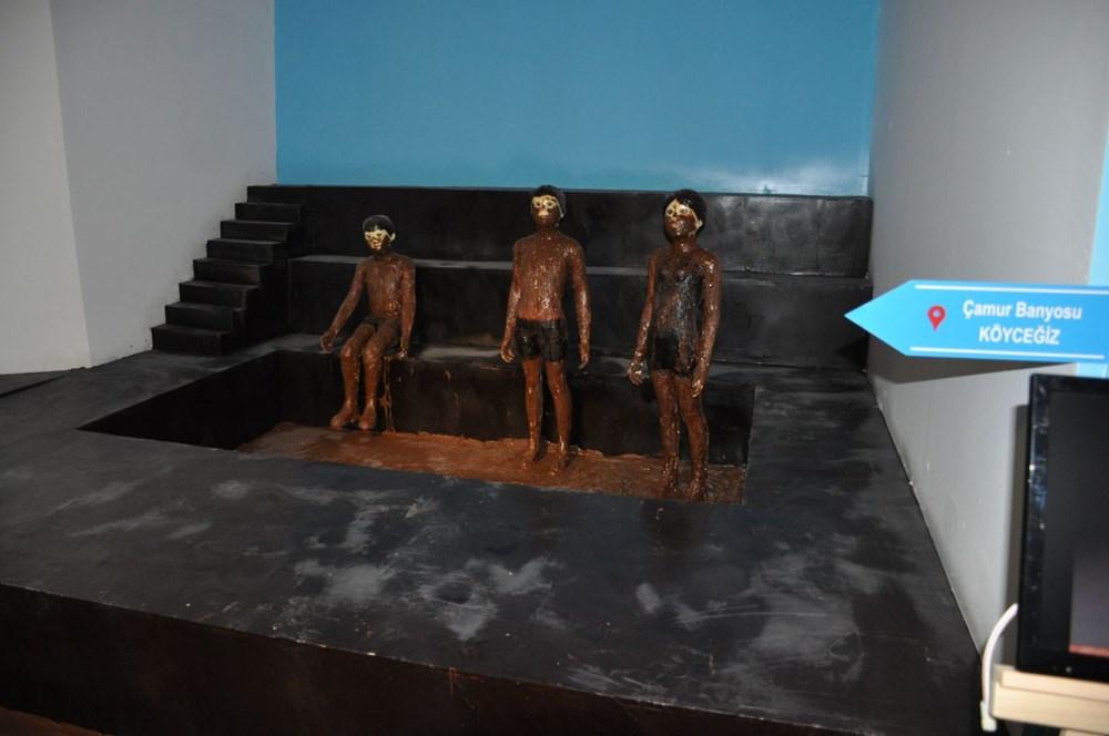 Bodrum'daki Çikolata Müzesi'nde 7 ton çikolata kullanıldı - 3