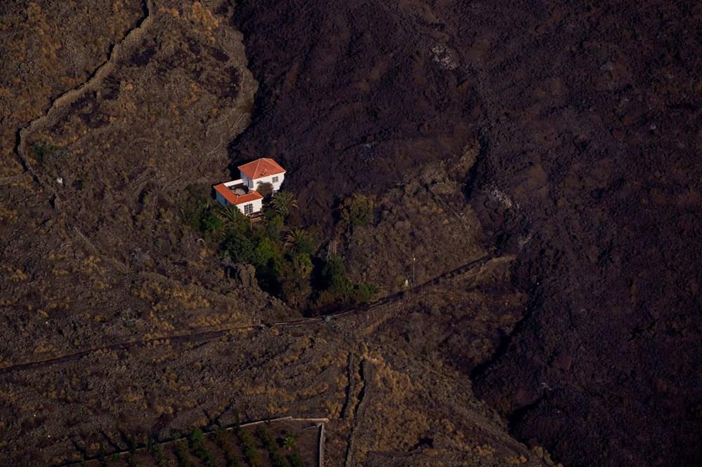 Kanarya Adaları'nın mucize evi: Etrafındaki her şey küle dönmesine rağmen hiçbir zarar görmedi - 6