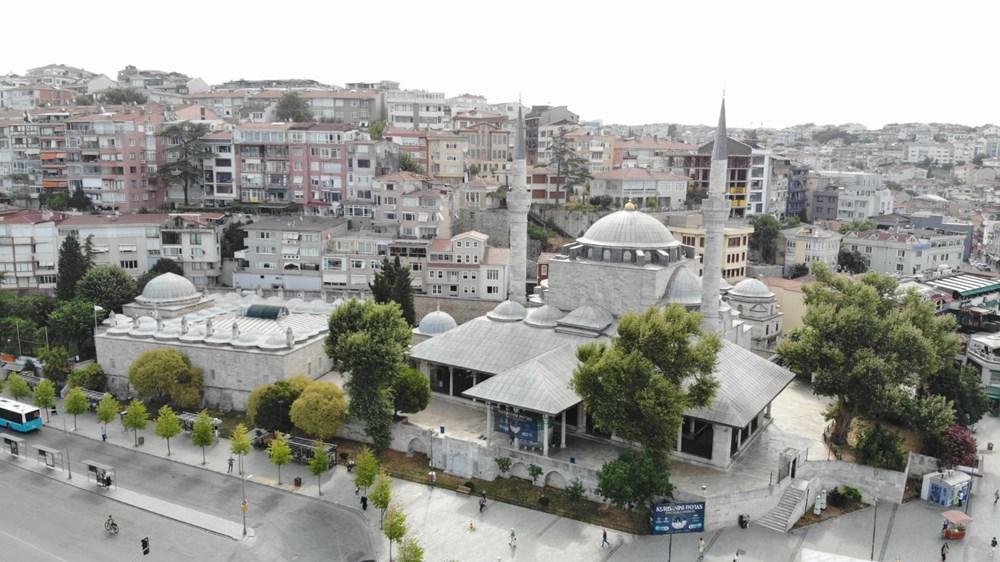 Üsküdar'daki 472 yıllık tarihi camiiye klima ünitesi - 9