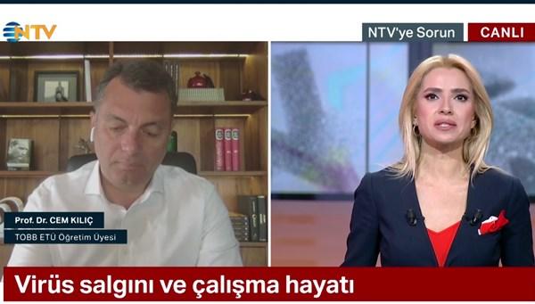 NTV'ye Sorun 29 Nisan 2020 (Konuk: Prof. Dr. Cem Kılıç)