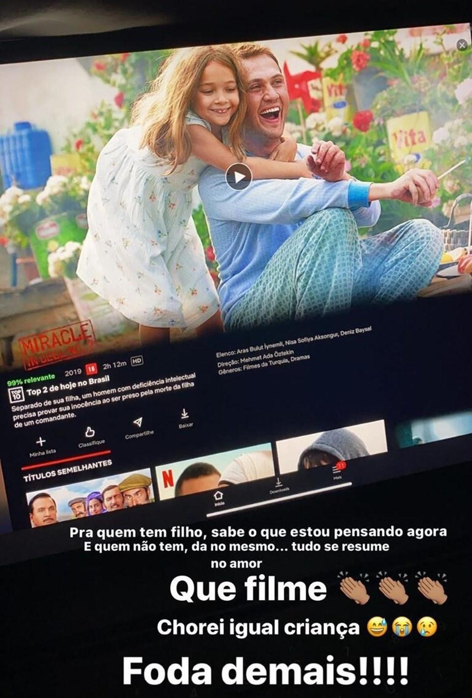 7. Koğuştaki Mucize, Brezilya'da en çok izlenen filmler arasında 2. sıraya yükseldi.