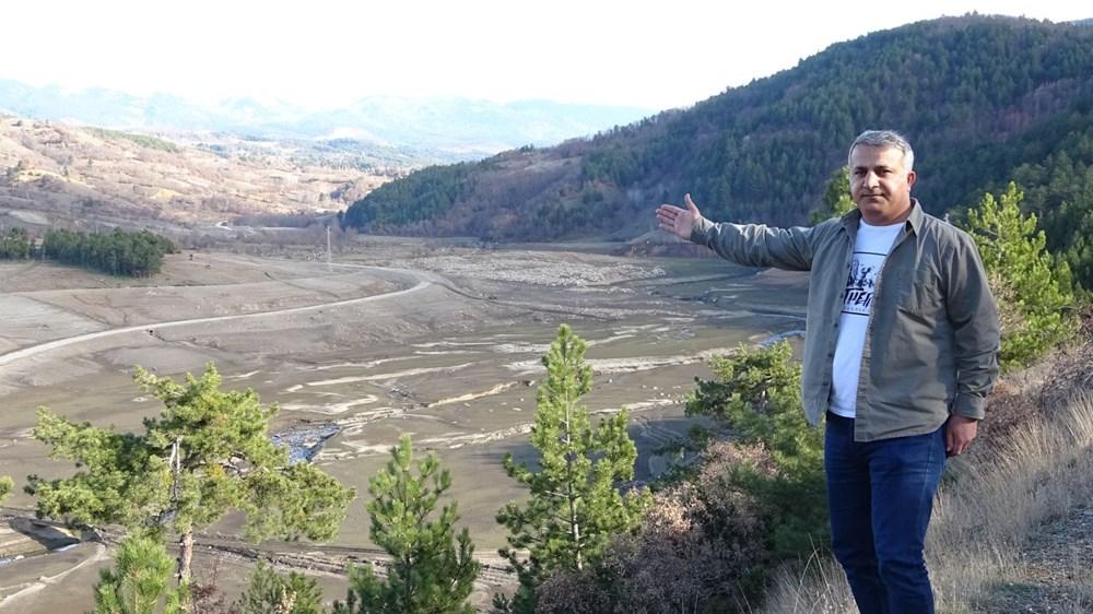 Bursa'nın su ihtiyacını karşılayan barajda su oranı yüzde 5'e düştü - 6