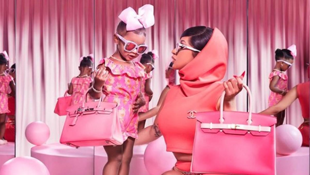 Cardi B'den kızına bin dolarlık oyuncak bebek