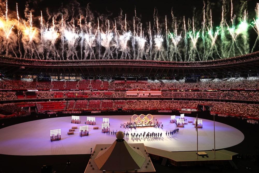 2020 Tokyo Olimpiyatları görkemli açılış töreniyle başladı - 33