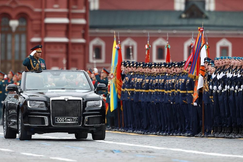 Rusya'da Zafer Günü kutlamaları: Moskova'da askeri geçit töreni - 18
