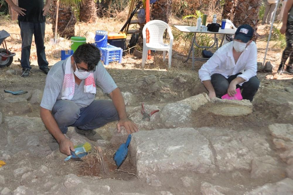 Astronominin kurucusu Aratos'un anıt mezarı için Soli Pompeiopolis'de kazı çalışmaları başladı - 4