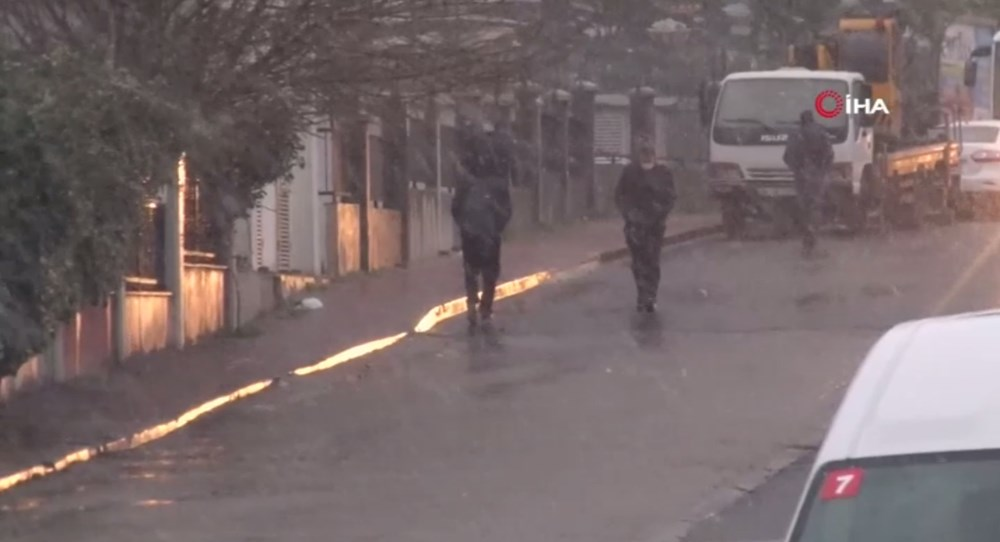 İstanbul'da beklenen kar yağışı başladı - 9