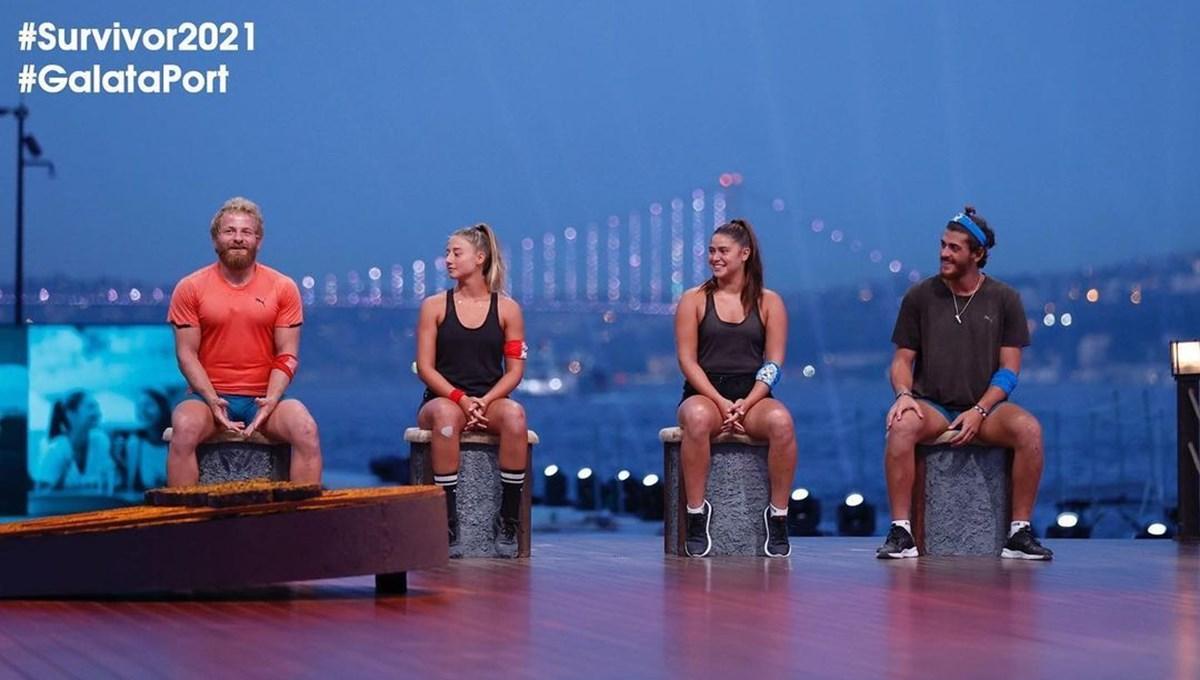 Survivor 2021'de Galataport'ta yarı final: Aleyna mı, Poyraz mı, Ayşe mi, İsmail mi?