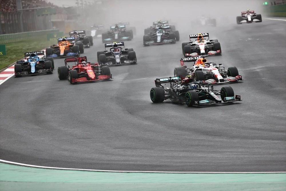 Formula 1 Türkiye Grand Prix'sinde kazanan Valtteri Bottas - 3