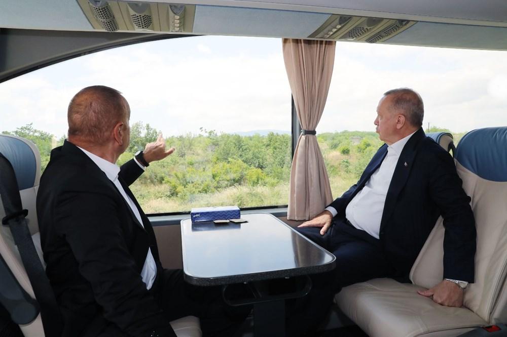 Cumhurbaşkanı Erdoğan, Azerbaycan'da - 7
