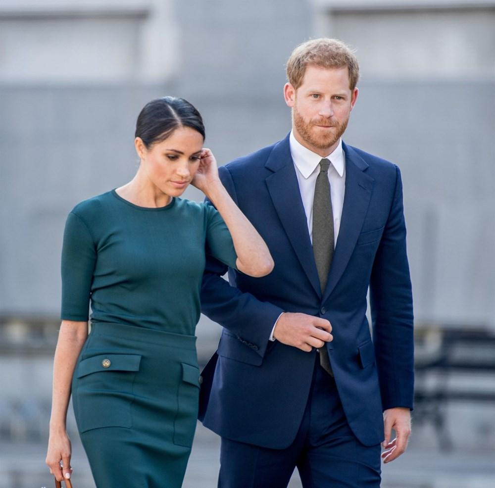 Meghan Markle, Prens Harry ile birlikte Londra'ya gidiyor - 4