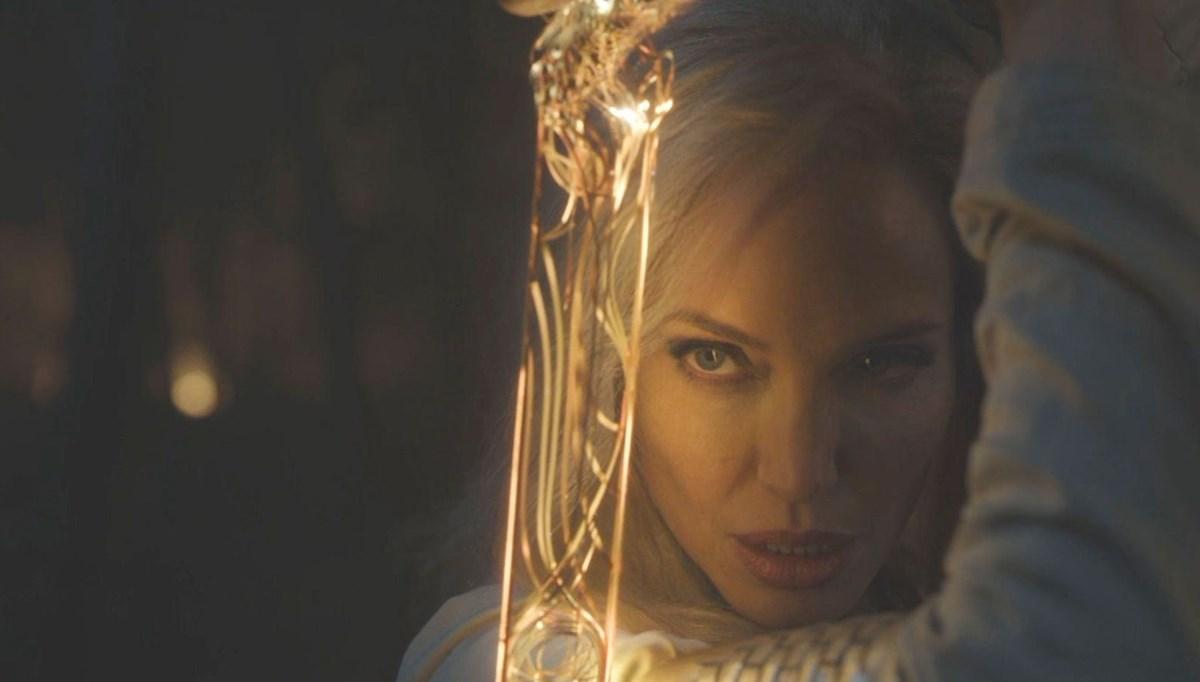 Angelina Jolie'nin Marvel süper kahramanı olduğu Eternals'tan ilk görüntüler
