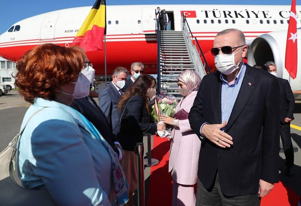 Cumhurbaşkanı Erdoğan Brüksel'de - 7