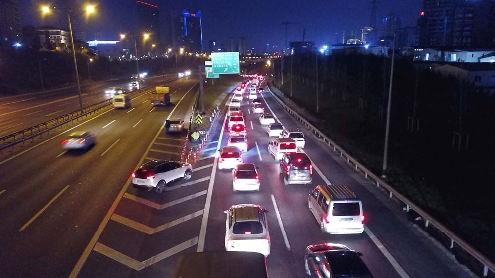 İstanbul'da, 'tam kapanma' öncesinde kaçış trafiği - 10