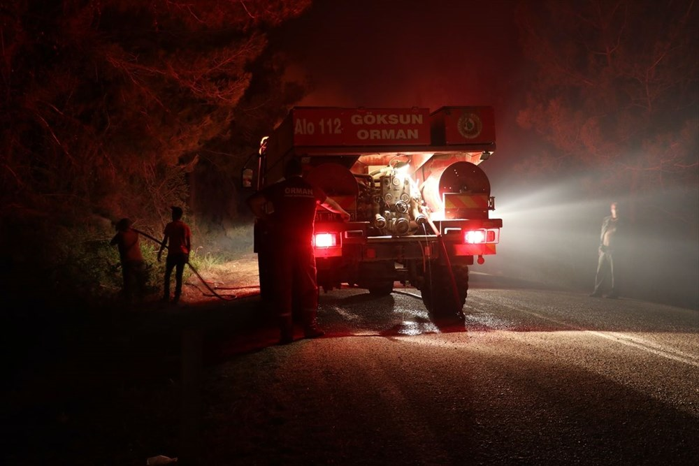 Antalya, Adana, Mersin, Aydın, Muğla, Osmaniye, Kayseri ve Manisa'da orman yangınları - 38