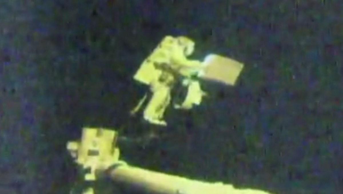 NASA, 2021 yılının ilk uzay yürüyüşünü gerçekleştirdi