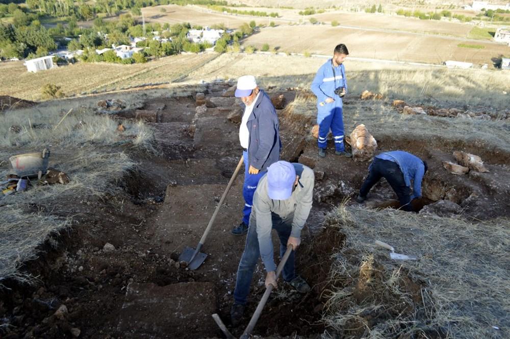 Perre Antik Kenti'nde 1500 yıllık insan iskeleti bulundu - 5