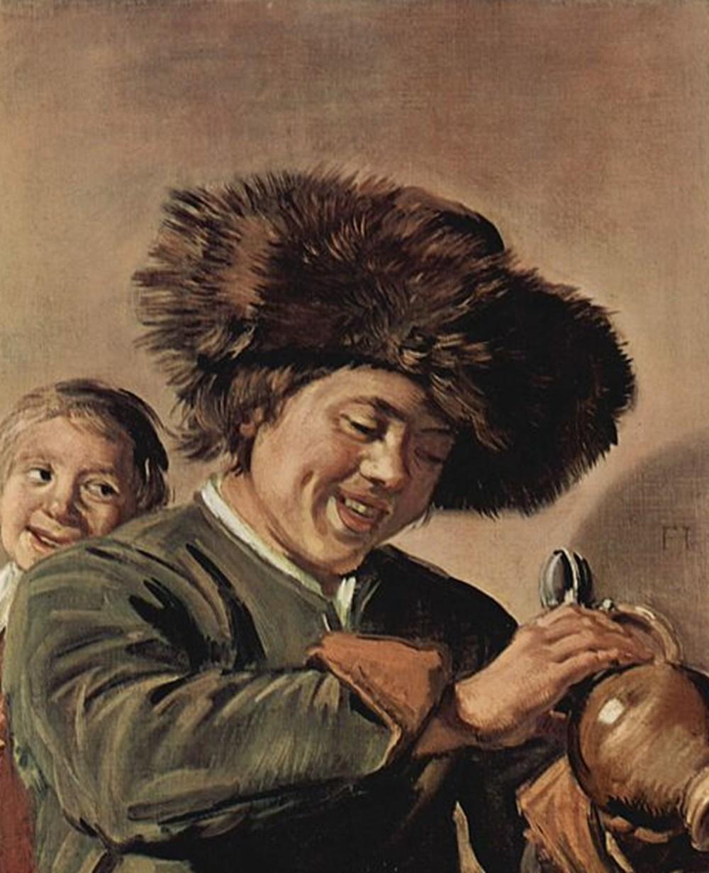Hollanda'da ressam Frans Hals'a ait İki gülen çocuk tablosu 3. defa çalındı - 2