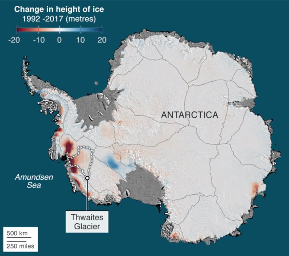 Bilim insanlarından felaket uyarısı: Dünya'nın çekirdeği Kıyamet Günü buzulunu eritiyor - 2