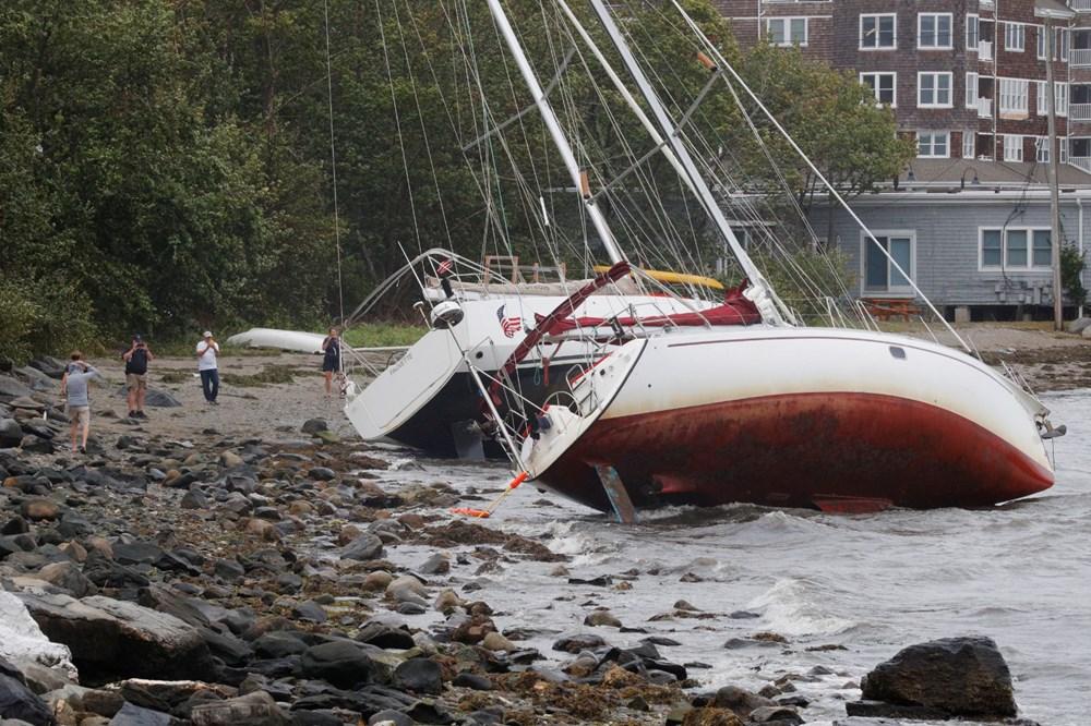 ABD'de Henri Kasırgası etkili oluyor: 140 bin haneye elektrik verilemiyor - 12