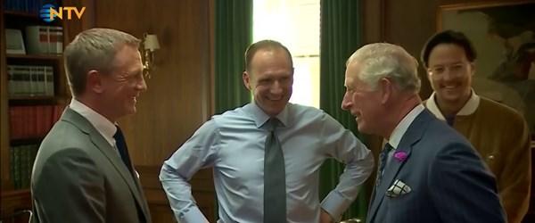 Prens Charles'a yeni Bond filminde rol teklif edildi