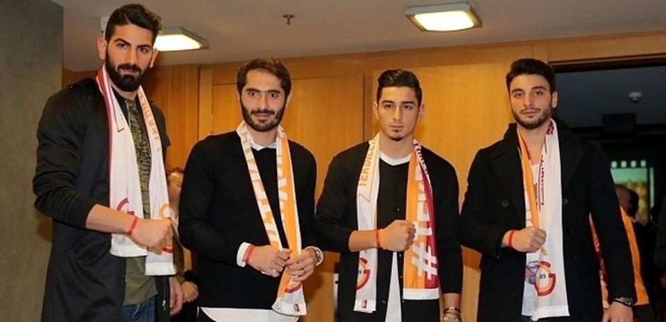 """Galatasaray Kulübünün yaşanan mali sorunlar nedeniyle hayata geçirdiği """"Tek Bilek Tek Yürek"""" kampanyasında 465 bin satış rakamına ulaşıldı."""