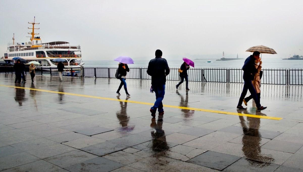 Meteoroloji'den sağanak yağış uyarısı (21 Haziran 2021 bugün hava nasıl olacak?)