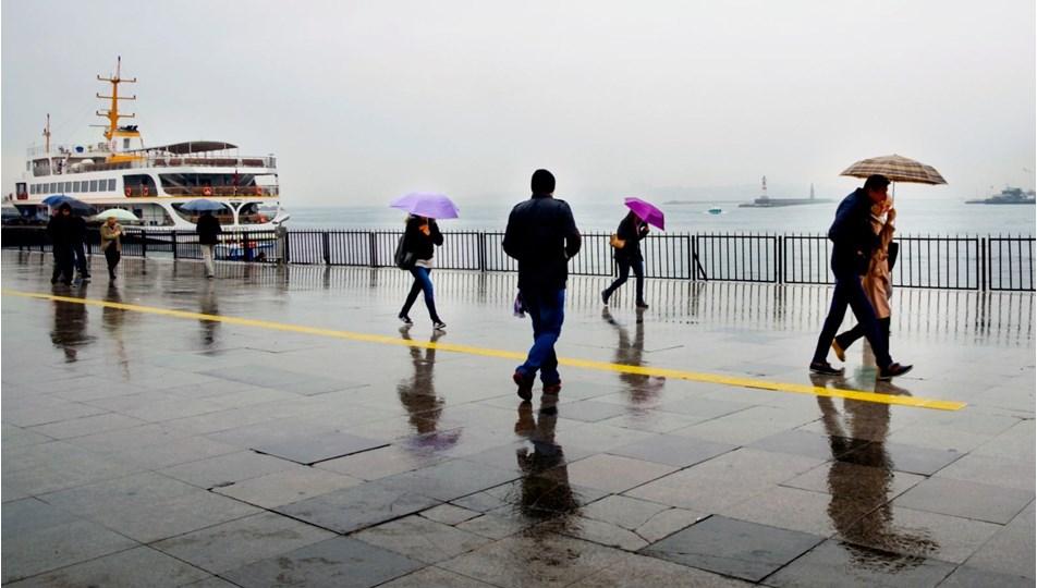 Son dakika hava durumu | Meteoroloji'den İstanbul için sarı kodlu uyarı