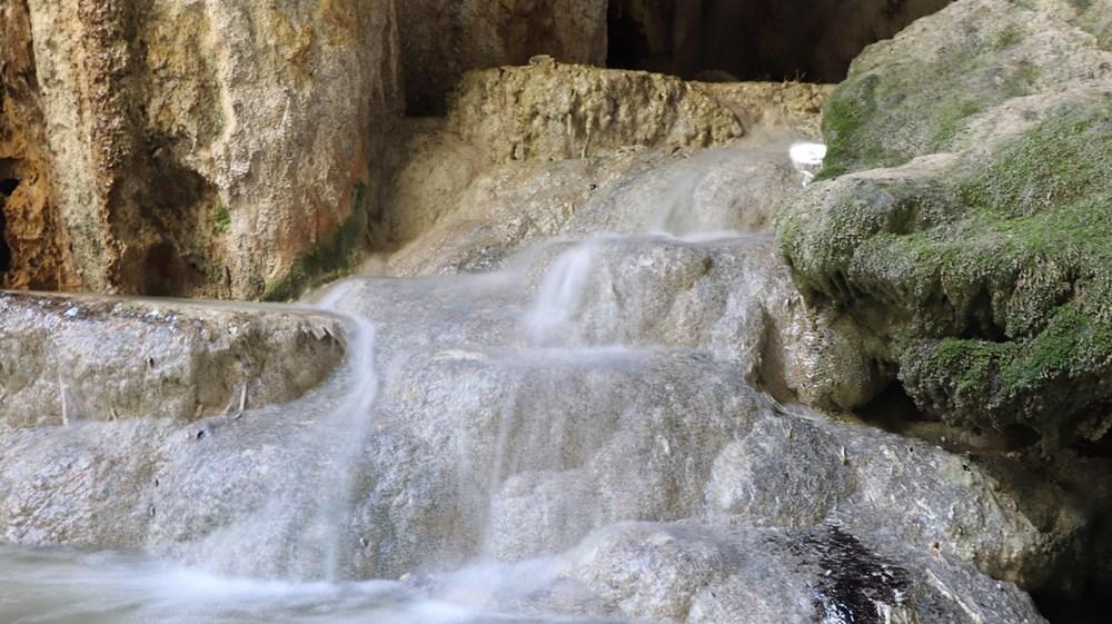 Denizli'de 2 milyon yıllık 'Yeraltındaki gizli Pamukkale' Kaklık Mağarası şifa dağıtıyor - 11