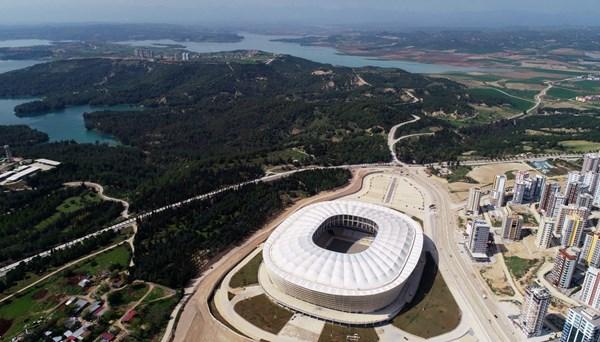 Adana'nın yeni stadyumunda sona gelindi
